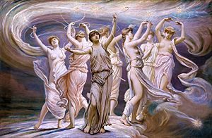 The Pleiades by Elihu Vedder