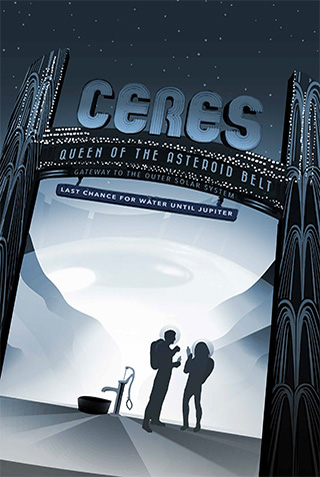 Ceres - Travel Posters From NASA Available For Download