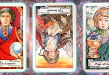 Nine's Path Pleiadian Tarot empire
