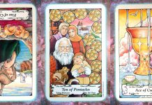 nine's path pleiadian tarot loss