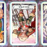 Nine's path Pleiadian Tarot emerge