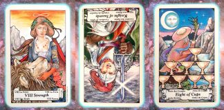 perspective Nine's Path Pleiadian Tarot weekly