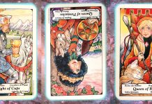 transformation nine's path pleiadian tarot weekly