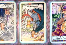 nine's path pleiadian tarot weekly distillation