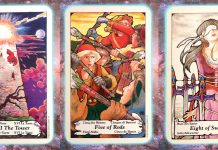 nine's path pleiadian tarot weekly turmoil