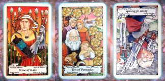 nine's path pleiadian tarot weekly blessing