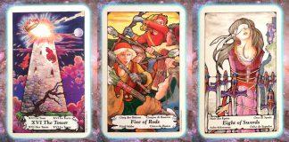 nine's path pleiadian tarot weekly turmoil