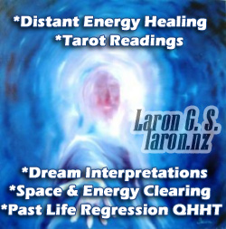 Laron G. S. — Energy Healer, Past Life Therapist & Consciousness Guide