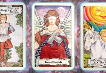 Nine's Path Pleiadian tarot point