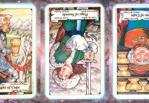 Nine's Path Pleiadian tarot waiting