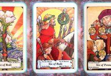 Nine's Path Pleiadian tarot Pleadian Pleidian bold arrival