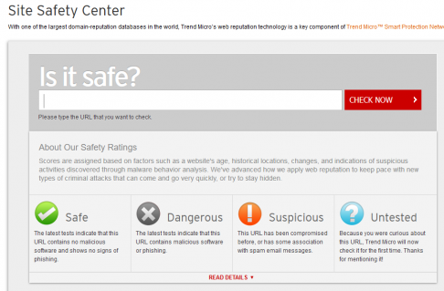 Safe Site Checker >> Is That Link Safe Url Virus Malware Website Checkers