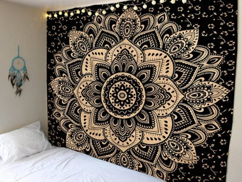 tapestry etsy cotton golden wall hanging.jpg