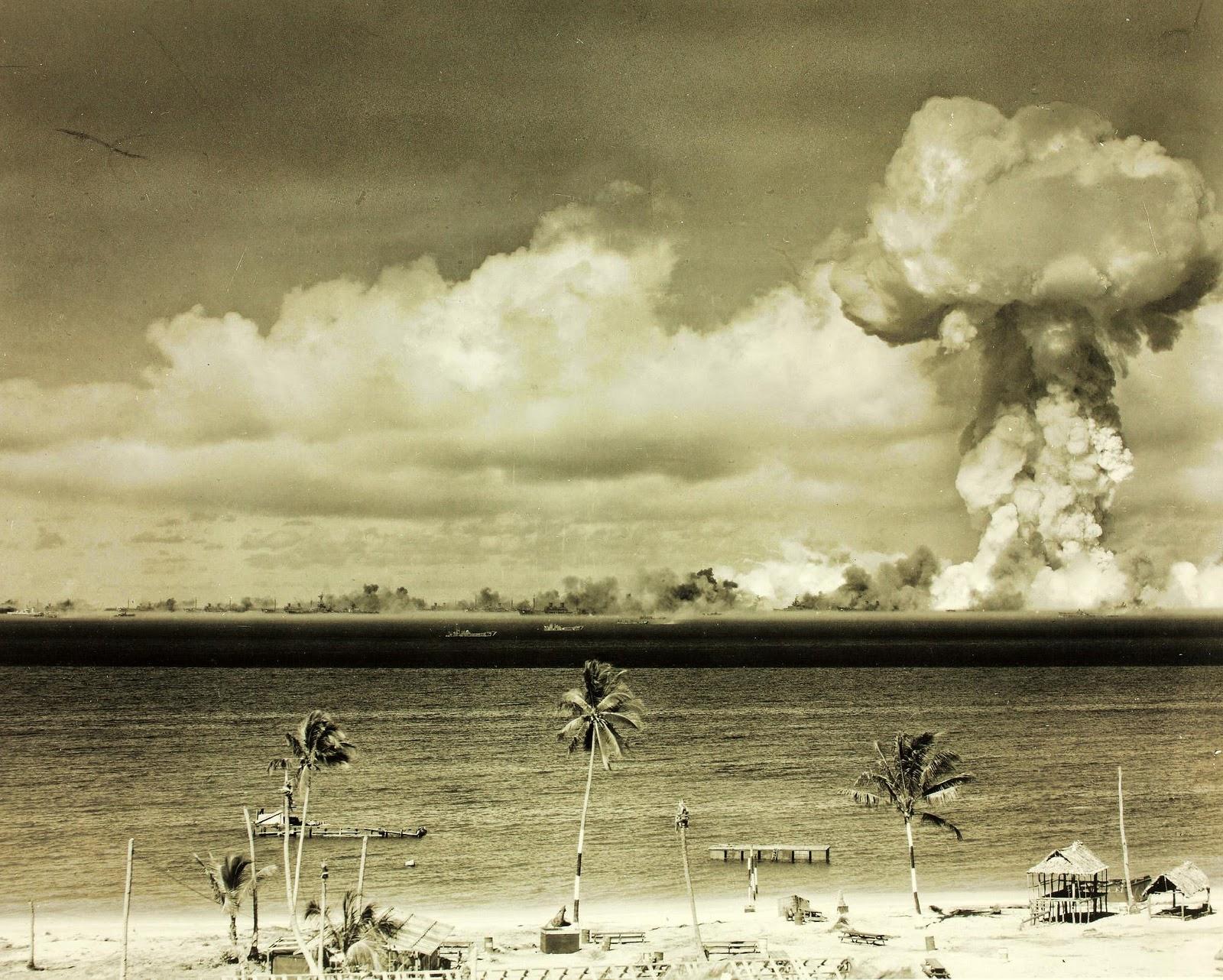 Atomic Bomb Test, Bikini Island, 1946