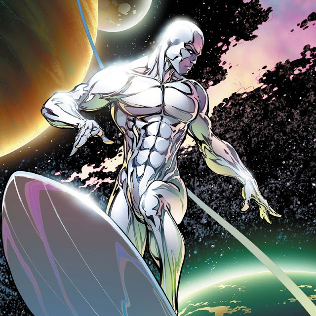 Crystal Tower QHHT Silver Surfer