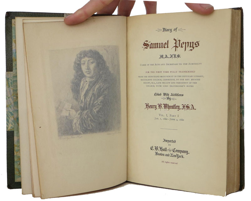 diary-samuel-pepys abe books