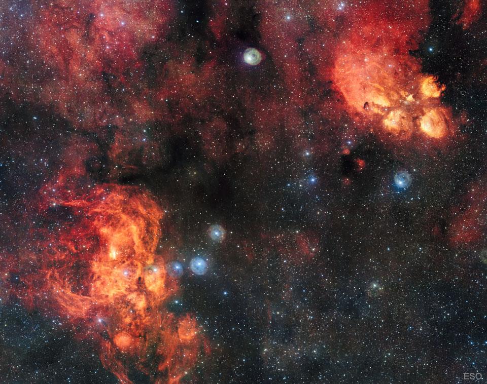The Lobster Nebula - Unraveled