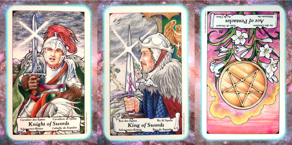 Nine's Path Pleiadian Tarot week of July 19