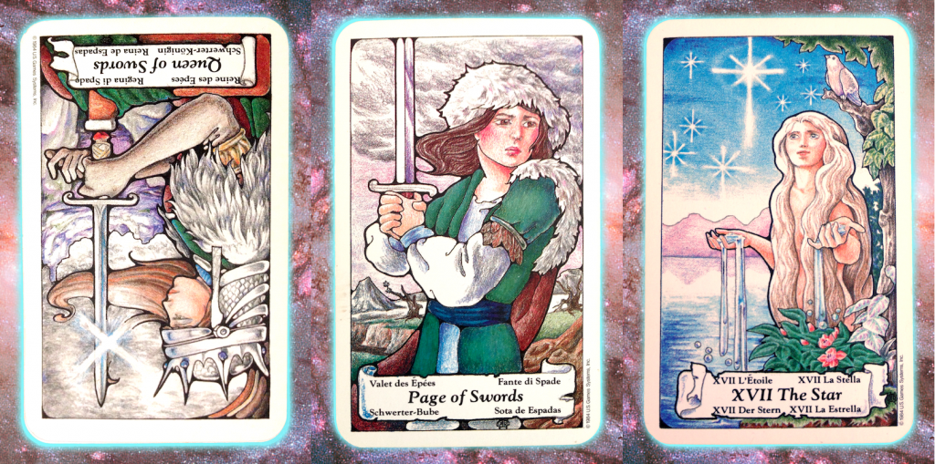 Nine's Path Pleiadian Tarot, week of July 26, 2017