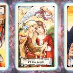Pleiadian tarot Nine's Path love