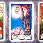 Nine's Path Pleiadian Tarot christ