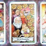 nine's path pleiadian tarot loss