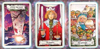 Nines Path Pleiadian Tarot truth