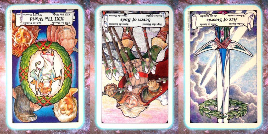 emerge Nine's path Pleiadian Tarot