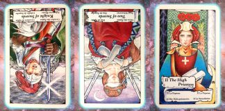 Nine's Path Pleiadian tarot Pleadian Pleidian channeling