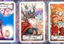 Nine's Path Pleiadian tarot transients